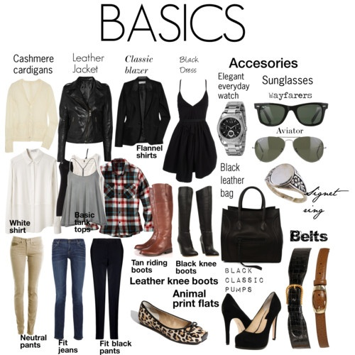 Basic Clothes That You Must Have