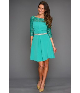 http://www.zappos.com/jessica-simpson-long-sleeve-lace-combo-dress-teal