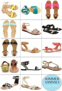 http://theglitterguide.com/2012/06/18/summer-sandals-under-50/