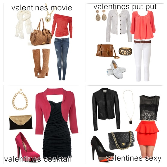 Cute Valentine Outfits of the Day   outfitofthedayblog