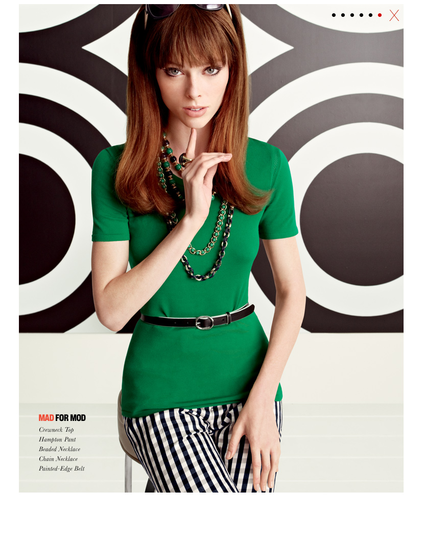 ce560e0585 Mad Men: Banana Republic's Newest Collection and Mad Men Cocktail ...