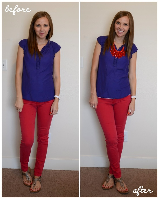 """Fresh """"Statement Necklace"""" Crop And Outfits Of The Day"""